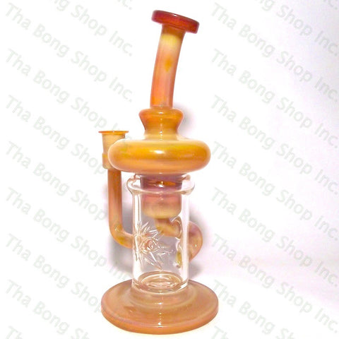 Phatt Ass Glass Butterscotch Innerklien Recycler - Tha Bong Shop