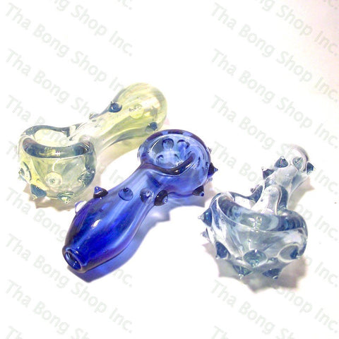 Juice Glass Coloured Spike Pipe - Tha Bong Shop