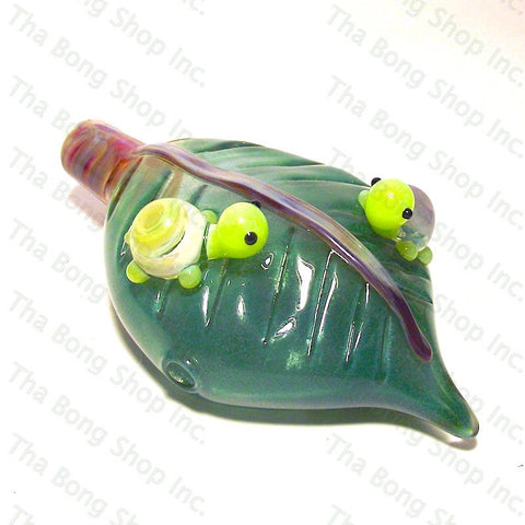 Narc Glass  Sparkle Conspiring Turtles Pipe - Tha Bong Shop