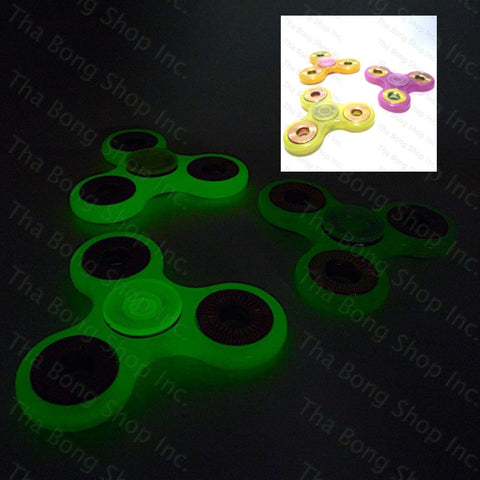 Glow In The Dark / UV Reactive Fidget Spinners - Tha Bong Shop