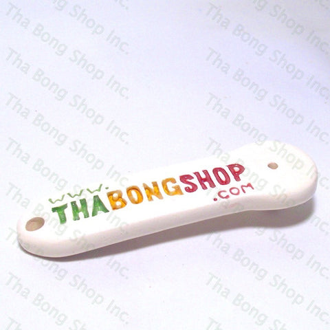 Tha Bong Shop Ceramic Directional Airflow Carb Cap Keychain  Made In Canada By Buzzed Bongs - Tha Bong Shop