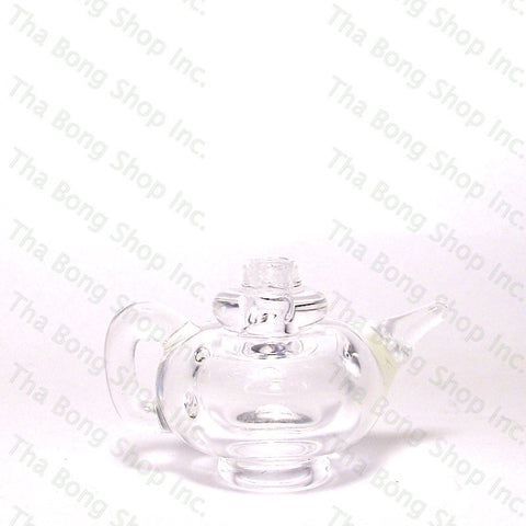 B.E. Glassworks Clear Tea Pot Carb Caps - Tha Bong Shop