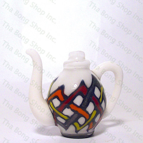 B.E. Glassworks X Gore Glass Celtic Knot Tea Pot Carb Cap - Tha Bong Shop
