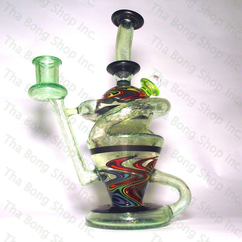 Korey Glass Dichro And UV Reactive  K-Cycler - Tha Bong Shop