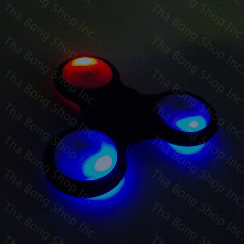 L.E.D. Light Up Fidget Spinner - Tha Bong Shop