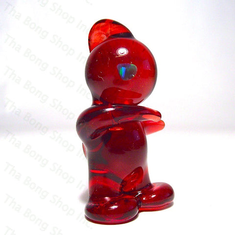 Blazed Glass Red Elvis Dabbing Glasstronaut Pendy - Tha Bong Shop