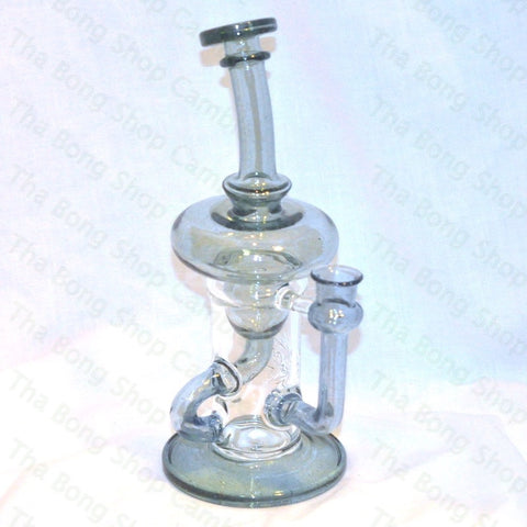Phatt Ass Glass Transparent Blue Innerklien Recycler - Tha Bong Shop