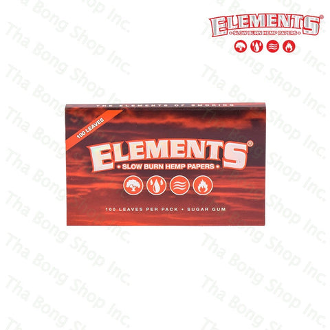 ELEMENTS RED SW - Tha Bong Shop