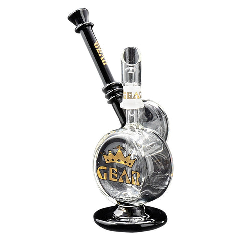 GEAR 6.5 Inch Tall Drum Roll Concentrate Bubbler - Tha Bong Shop
