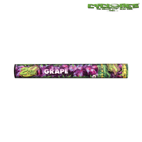 Grape Cyclone Prerolled Hemp Blunt Wraps - Tha Bong Shop