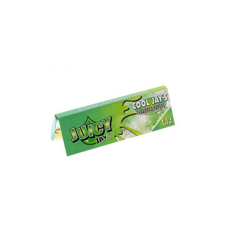 Juicy Jay's 1 1/4 Cool Jays Menthol - Tha Bong Shop