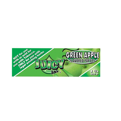 Juicy Jay's 1 1/4 Green Apple - Tha Bong Shop