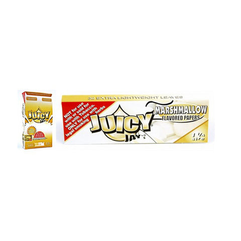 Juicy Jay's 1 1/4 Marshmallow - Tha Bong Shop