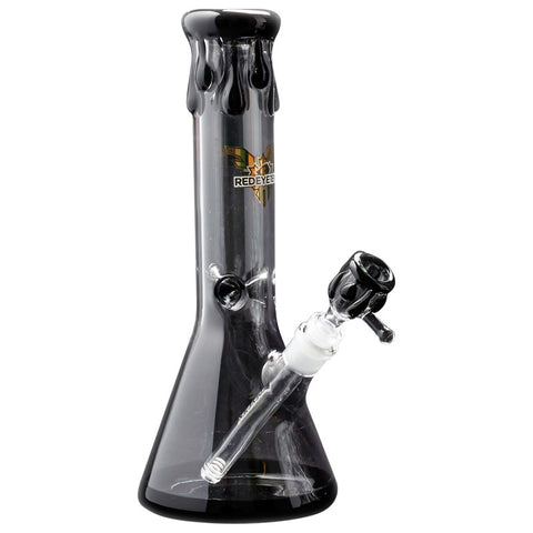 Red Eye Tek 12.5 Inch Tall Paint Drip Beaker Tube - Tha Bong Shop