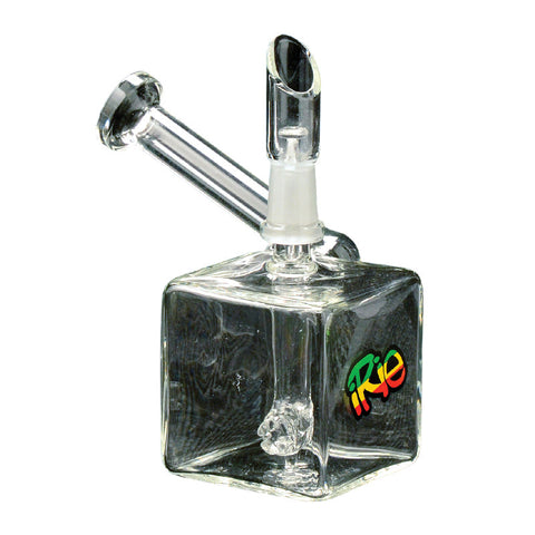 IRie 3.5 Inch Tall Zeen Concentrate Bubbler With Hammerhead Perc - Tha Bong Shop