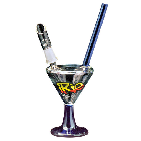 IRie 7 Inch Tall Oil Can Concentrate Bubbler With Direct Inject 4 Cut Diffuser - Tha Bong Shop
