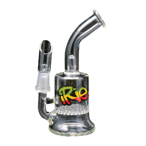 IRie 5 Inch Tall Cadella Concentrate Bubbler With Honeycomb Perc - Tha Bong Shop