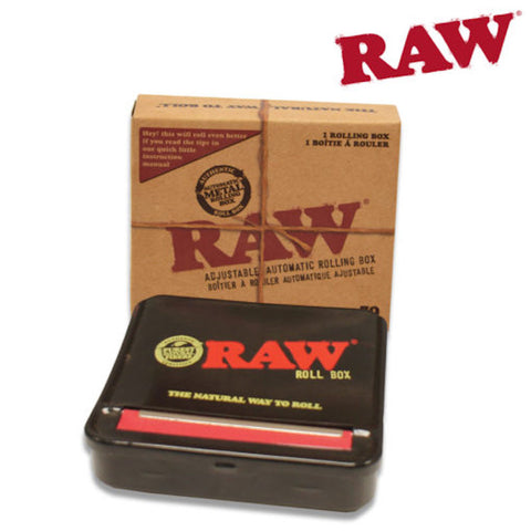 RAW ROLLBOX 79mm Rolling Machine - Tha Bong Shop
