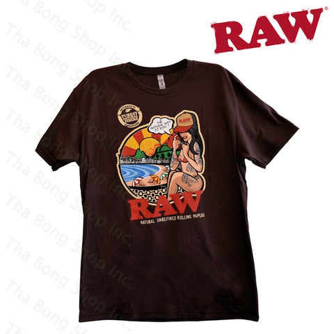 RAW BRAZIL SHIRT - Tha Bong Shop