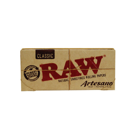 RAW KSS Artesano With Tray And Tips - Tha Bong Shop