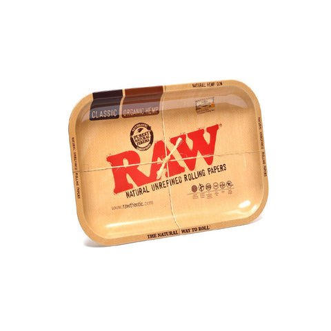 RAW Metal Rolling Tray - Tha Bong Shop