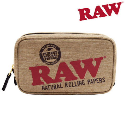 RAW SMELL PROOF MEDIUM SMOKERS POUCH  - Tha Bong Shop