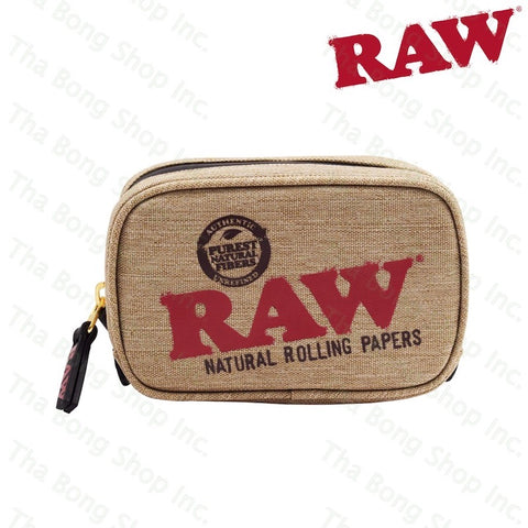 RAW SMALL SMELL PROOF SMOKERS POUCH - Tha Bong Shop