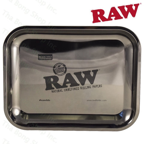 RAW Black Gold Limited Edition Large Rolling Tray - Tha Bong Shop