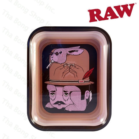 RAW ARTIST SERIES ROLLING TRAY JEREMY FISH - Tha Bong Shop
