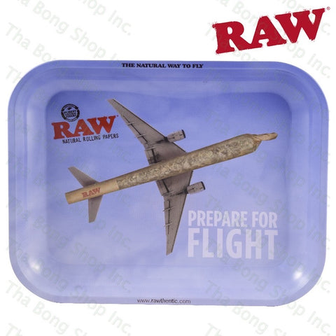 RAW® Flying High Metal Rolling Tray - Tha Bong Shop