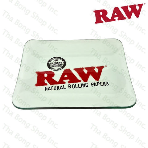 RAW Glass Tray - Tha Bong Shop