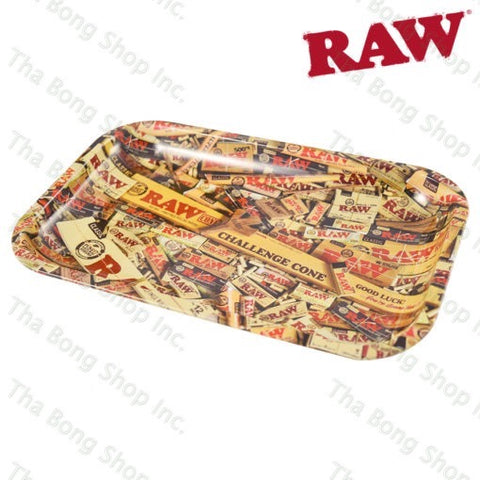 RAW Mix Metal Rolling Tray - Tha Bong Shop