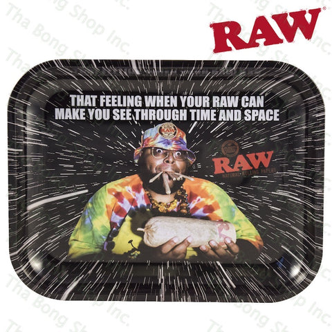 RAW® Oops Metal Rolling Tray - Tha Bong Shop