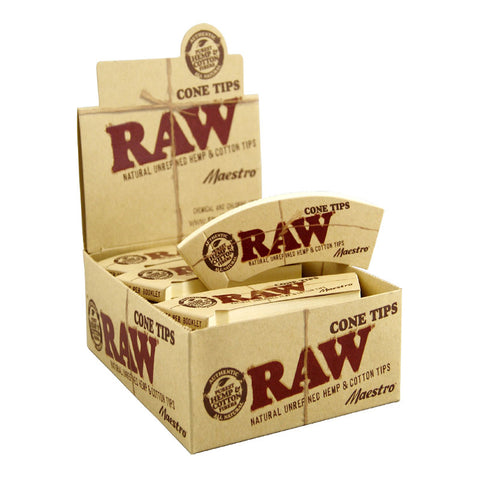 RAW Tips Cone Maestro - Tha Bong Shop
