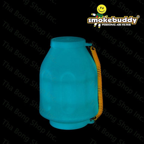 SmokeBuddy Blue Glow In the Dark Series Personal Air filter - Tha Bong Shop