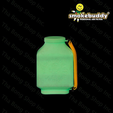 SmokeBuddy JR White Glow In the Dark Series Personal Air filter - Tha Bong Shop
