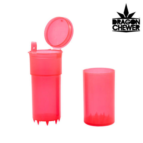 DRAGON CHEWER SHREDTAINER GRINDER - Tha Bong Shop