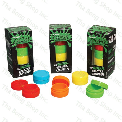 No Goo Non Stick Silicone Containers - Tha Bong Shop