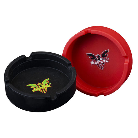 Red Eye Tek Silicon Ashtray - Tha Bong Shop