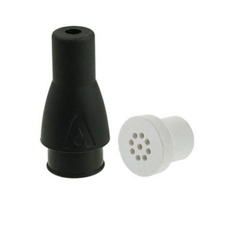 Atmos Black Boss Mouthpiece With Ceramic Filter - Tha Bong Shop