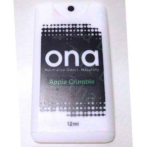 ONA Apple Crumble Odour Eliminator Spray Card - Tha bong Shop