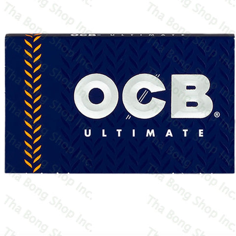 OCB Ultimate Single Wide Double Feed Rolling Papers - Tha Bong Shop