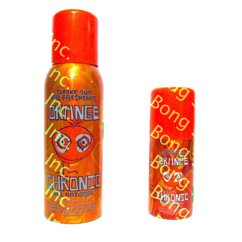ORANGE CHRONIC SMOKE OUT AIR FRESHNER - Tha Bong Shop