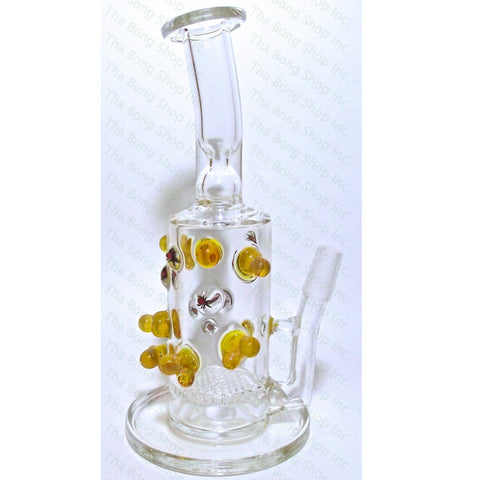 Honeycomb Perc Trichome Rig With Spider Mite Milli - Tha Bong Shop