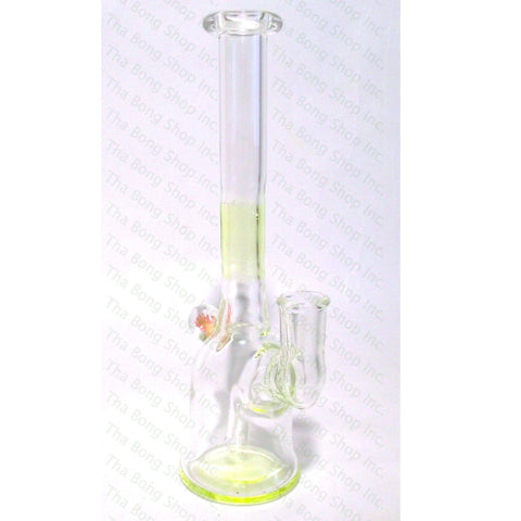 UV Reactive Illuminati Accent 10mm Bangerhanger Minitube - Tha Bong Shop