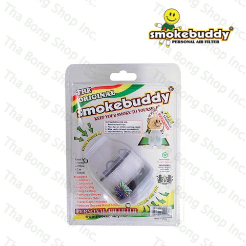 Translucent White SmokeBuddy Personal Air Filter - Tha Bong Shop