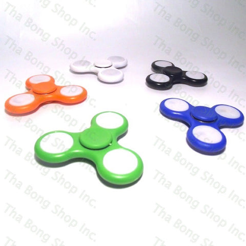 LED Light Up Fidget Spinner - Tha Bong Shop