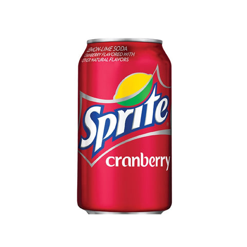 Cranberry Sprite 343ml Can