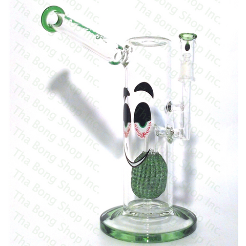Aqua Glass Pineapple Perc Sidecar Oil Rig - Tha Bong Shop