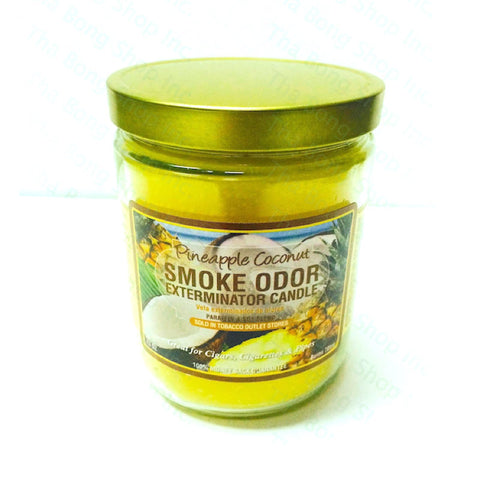 Pineapple Coconut Smoke Odor Exterminator Candle - Tha Bong Shop